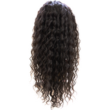 100% Human Hair Lace Front wigs ( Virgin hair ) Curly - 10A Grade