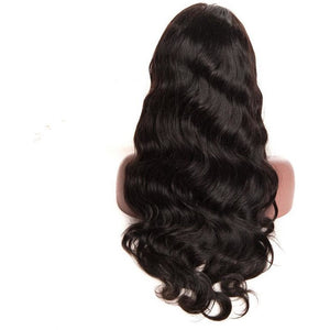 100% Human Hair Lace Front wigs ( Virgin hair) Body Wave - 10A Grade
