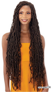NU LOCS -Mayde Beauty Crochet Braid 3X Modern Soft Loc 28""