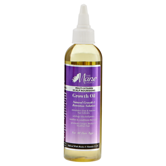 THE MANE CHOICE: Multi-Vitamin Scalp Nourishing Growth Oil 4oz