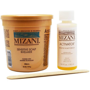 Mizani Relaxer with Sensitive Scalp Formula Activator 7.5oz