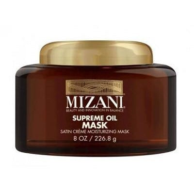 Mizani Supreme Oil Mask Satin Creme Moisturizing Mask 8 oz