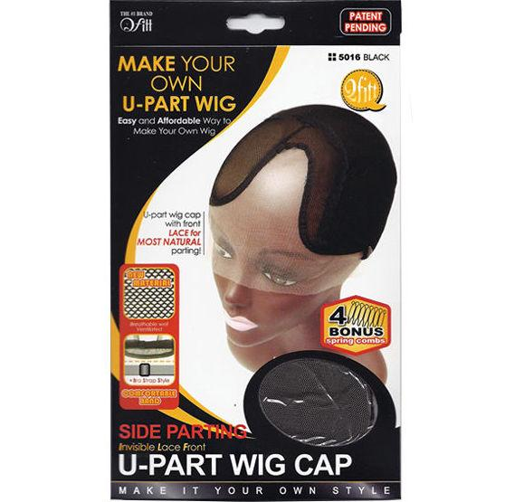QFITT: Side Parting Invisible Lace Front U-Part Wig Cap