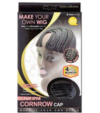 QFITT: U-Part Style Cornrow Cap