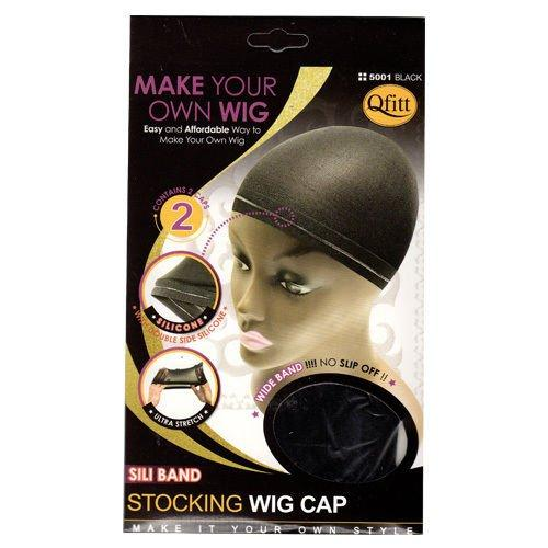 QFITT: Sili Band Stocking Wig Cap