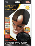 QFITT: Side Parting U-Part Wig Cap