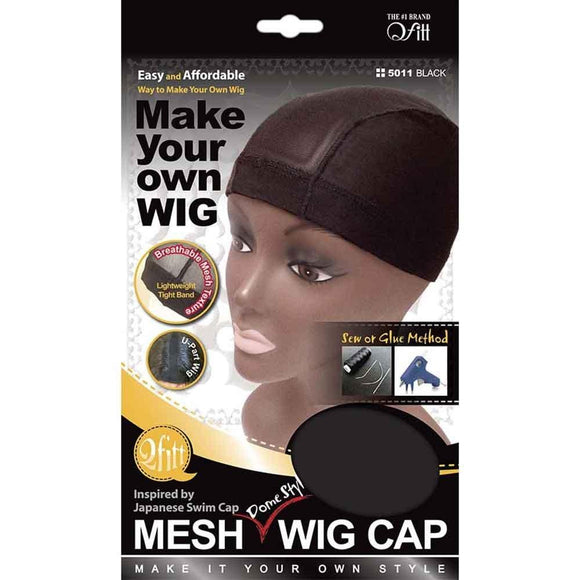 QFITT: Stretch Mesh Dome Style Wig Cap