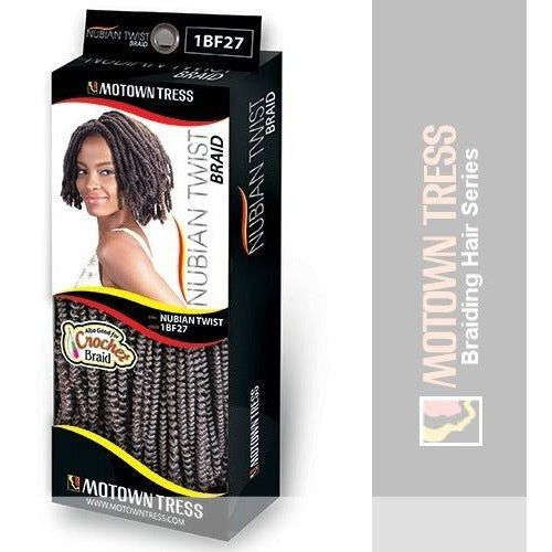 Motown Tress NUBIAN TWIST Crochet BRAID