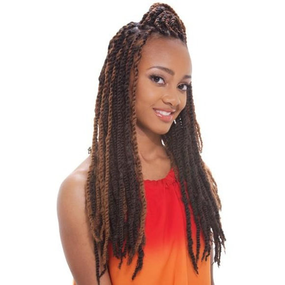 JANET COLLECTION 2X Afro Twist Braid  100% Kanekalon, Marley