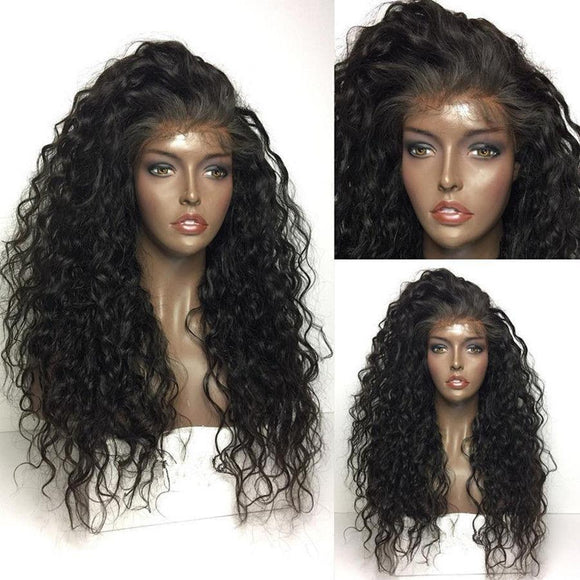10A Grade Glueless Full Lace Wigs 100% Virgin Hair (Curly)