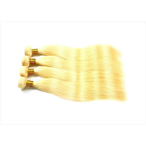 10A Grade Blonde #613 Straight  100% Virgin Hair Bundle