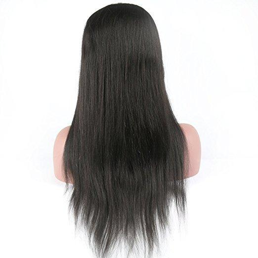 8A Grade Lace Front Wigs 100% Virgin Hair Straight