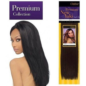 OUTRE PREMIUM NEW YAKI 100% HUMAN HAIR WEAVE