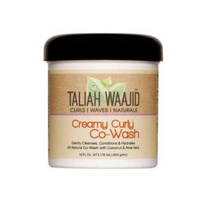 Taliah Waajid Curls| Waves| Naturals Creamy Curly Co-Wash 16 fl oz