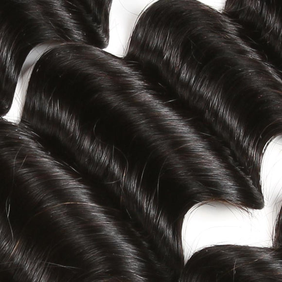 Mink Hair - Virgin Hair ( 100% Full Cuticle Virgin Hair ) - Loose Deep