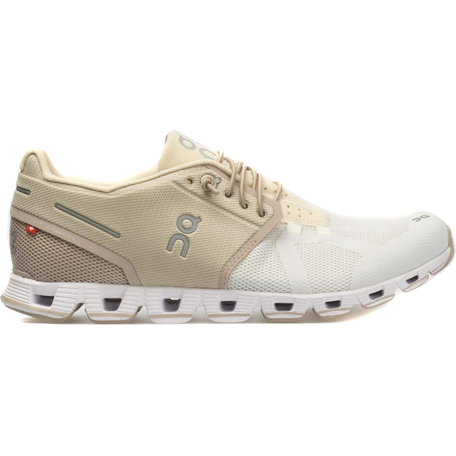 Zapatillas On Running cloud 50/50 Sand Snow Mujer