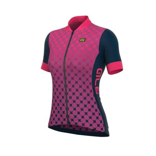 Maillot Alé EXCEL BOLAS Rosa. Mujer