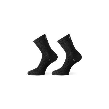 Calcetines Assos Mille GT Sock Summer Black Series.