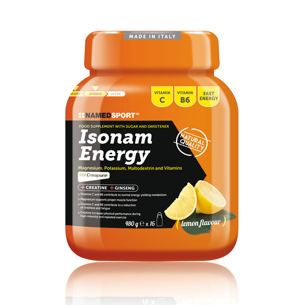 Isonam Energy. Limón. Named Sport