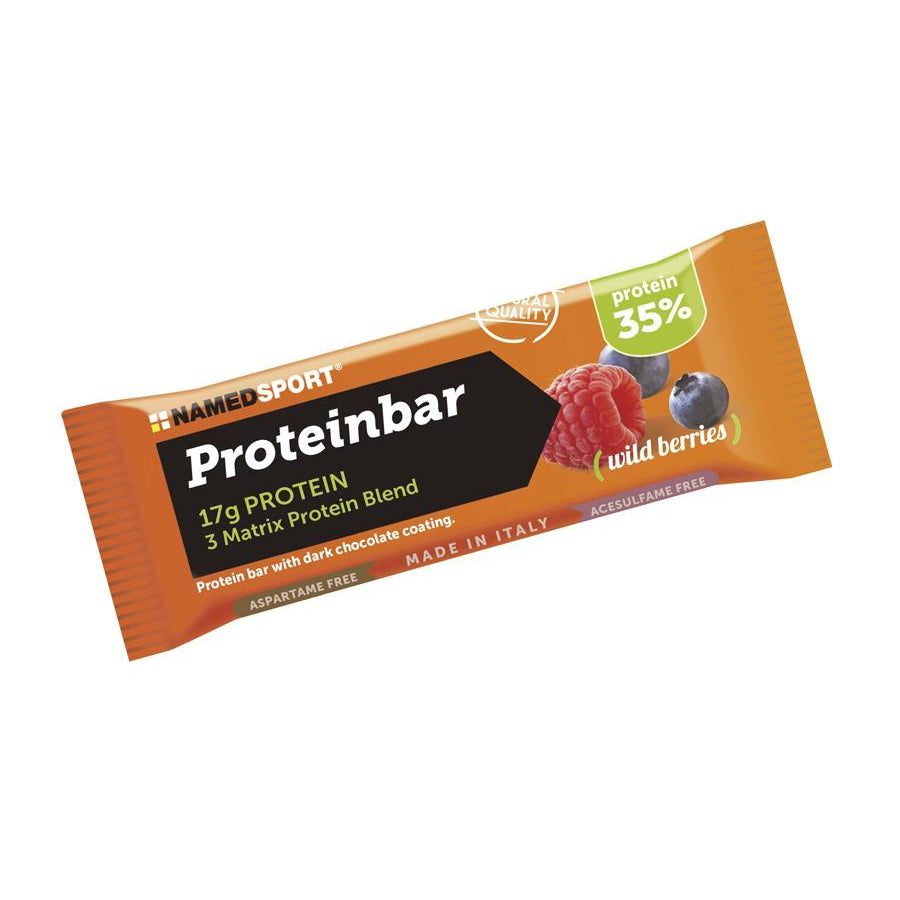 Proteinbar Frutos del Bosque. Named Sport