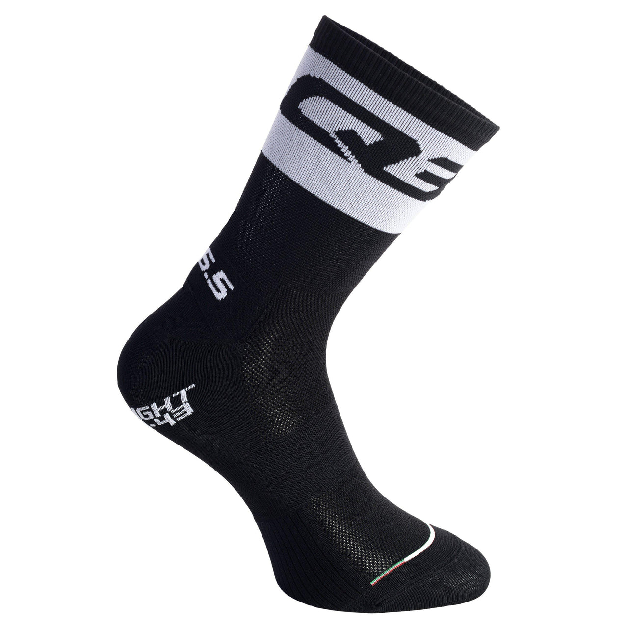 Calcetines Q36.5 ULTRALIGHT Negro/Blanco