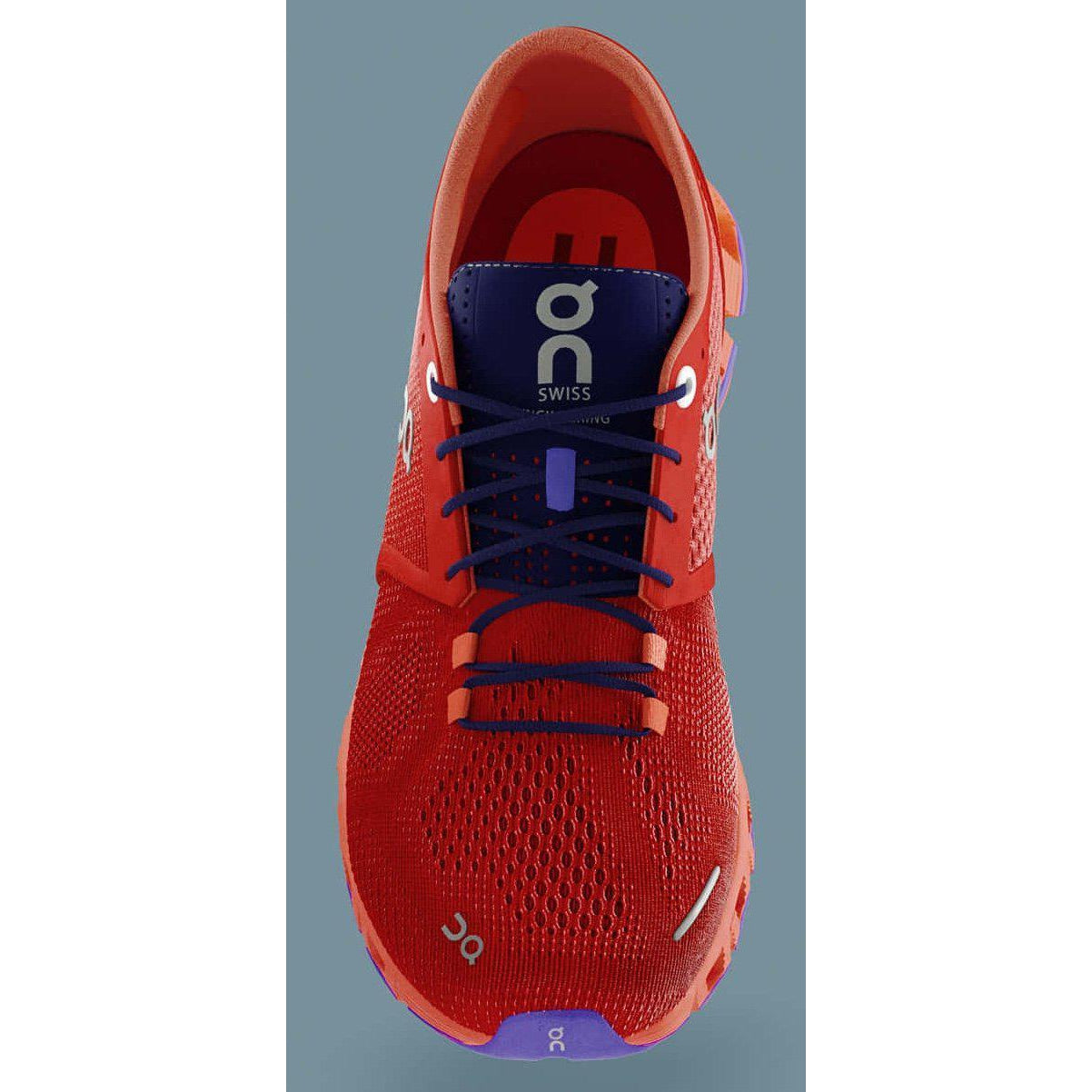 Zapatillas On Running CQ19 CLOUD X Red/Flash Mujer