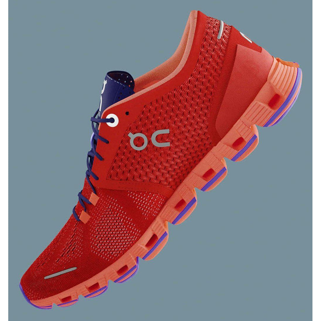 Zapatillas On Running CQ19 CLOUD X Red/Flash. Mujer