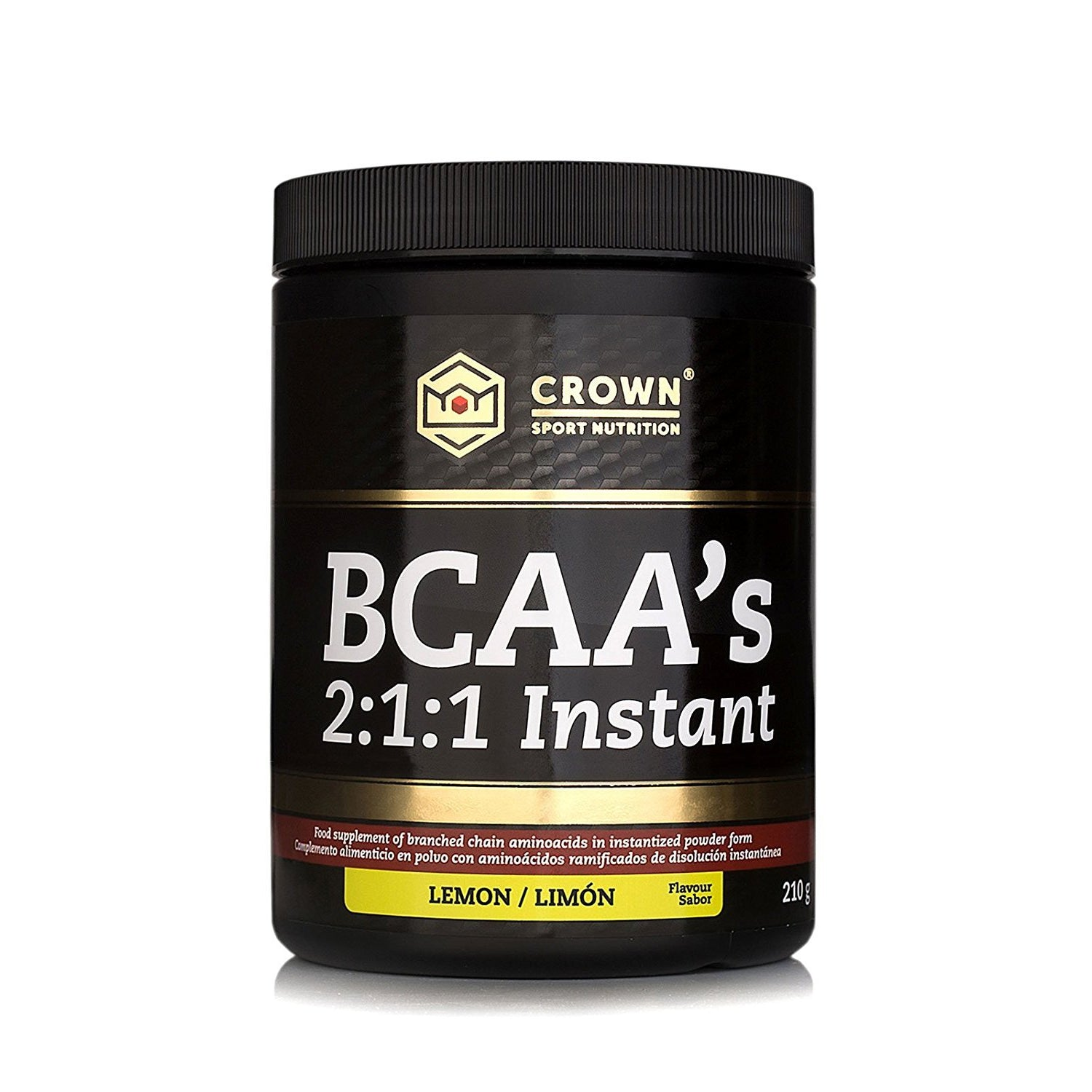 BCAA'S 2:1:1 Instant Limón. Crown Sport Nutrition
