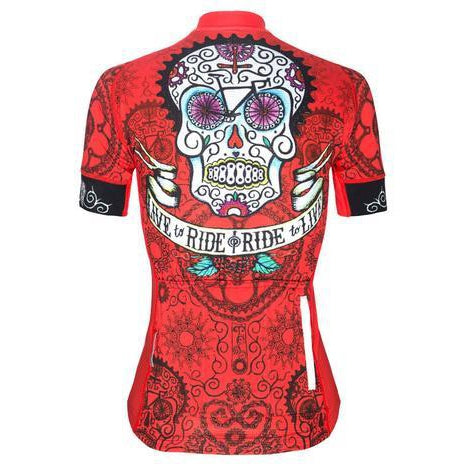 Maillot Cycology DAY OF THE LIVING Mujer
