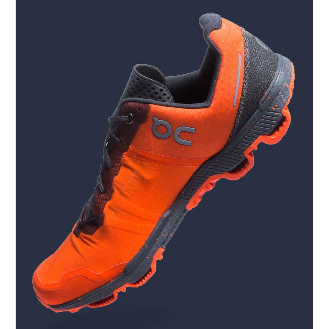 Zapatillas On Running CQ19 CLOUDVENTURE PEAK Flame/Shadow Mujer