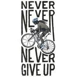 Camiseta Cycology NEVER GIVE UP Gris