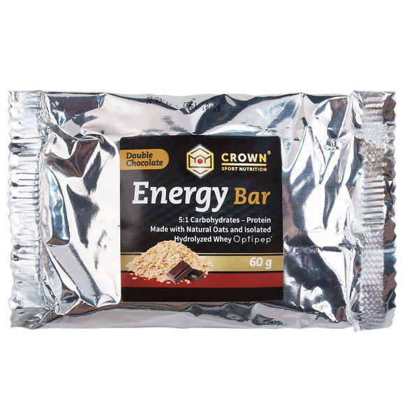 Energy Bar Doble Chocolate. Crown Sport Nutrition