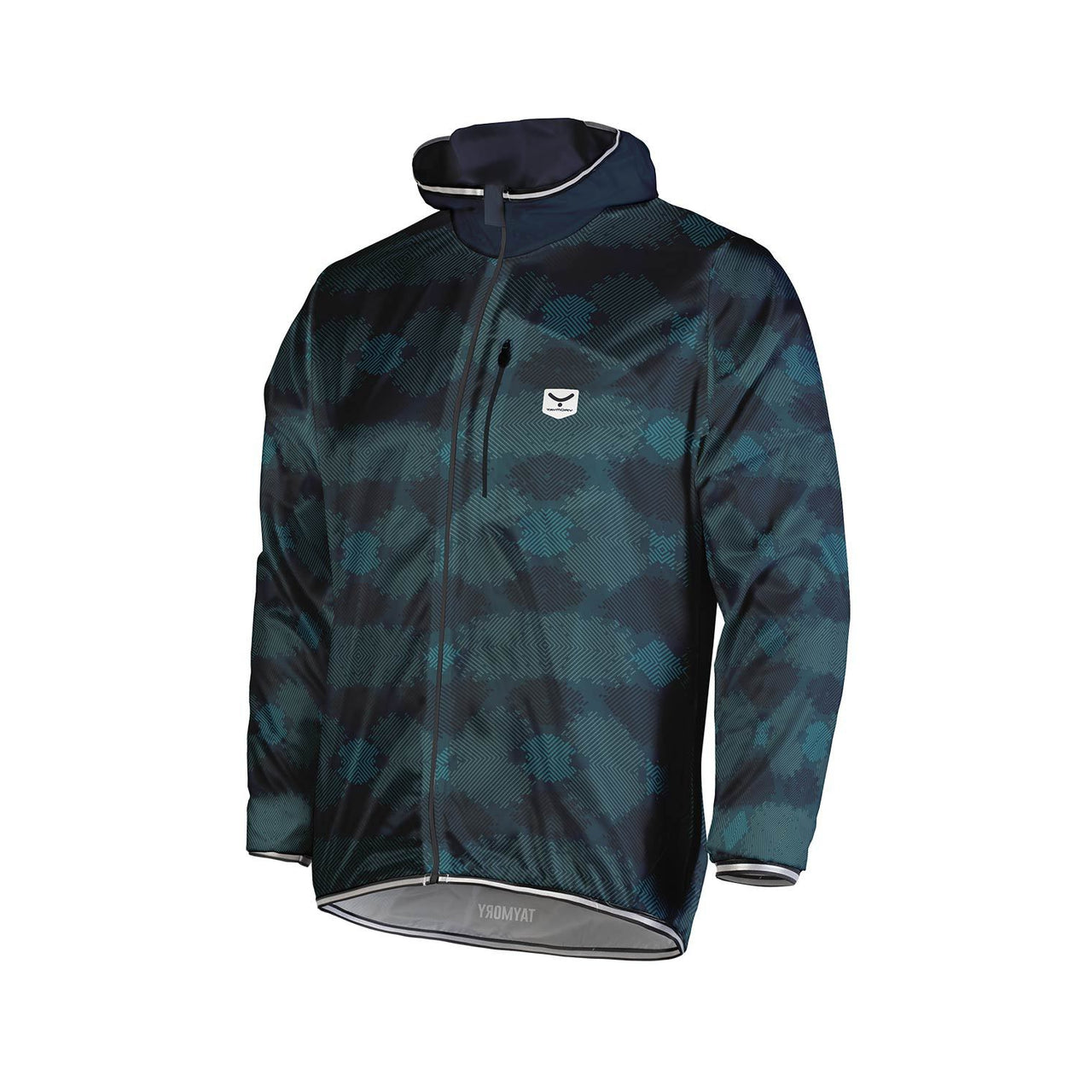 Chaqueta Cortavientos Taymory Running DISTRICT Hombre