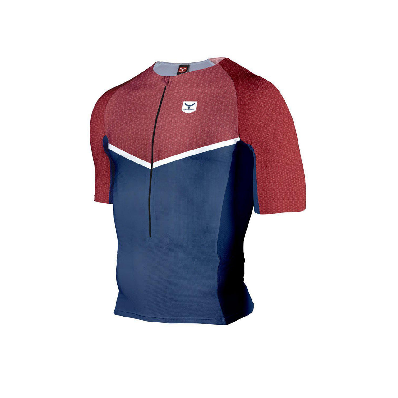 Camiseta Triatlon manga corta TAYMORY larga distancia. Hombre