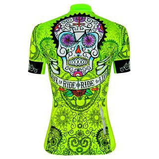 Maillot Cycology DAY OF THE LIVING Lima. Mujer