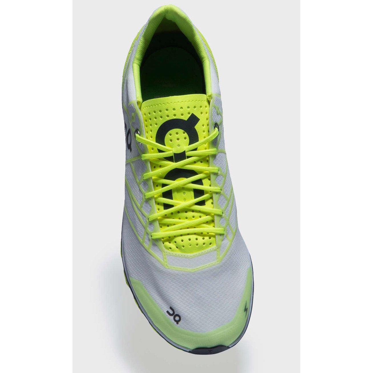 Zapatillas On Running CQ19 CLOUDFLASH Neon/White. Mujer