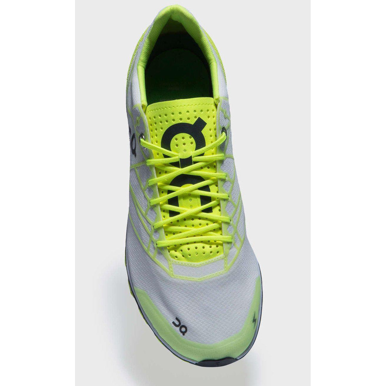 Zapatillas On Running CQ19 CLOUDFLASH Neon/White. Hombre