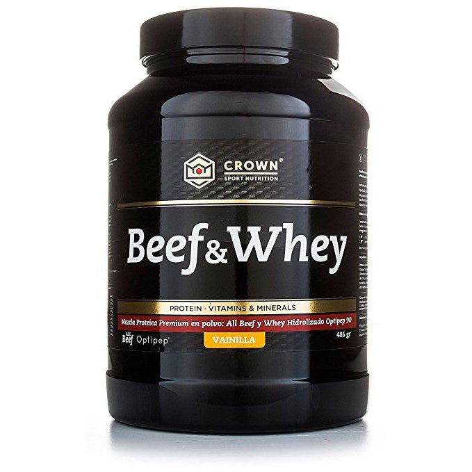 Beef & Whey Vainilla. Crown Sport Nutrition