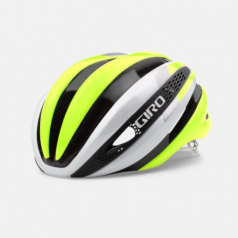 Casco SYNTHE™ Blanco/Amarillo Flúor