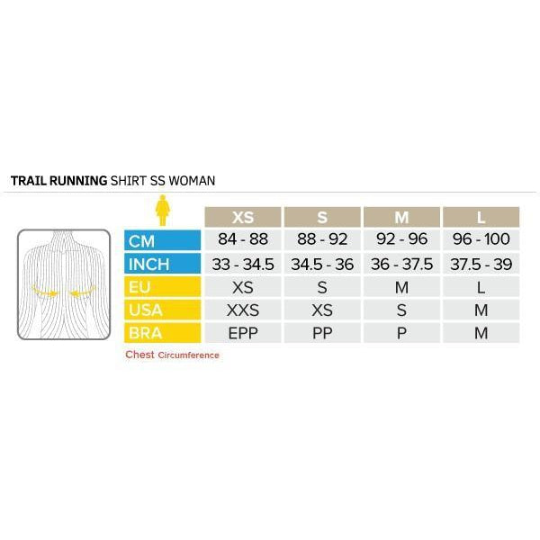 Camiseta Compressport TRAIL RUNNING V2 Negro Mujer