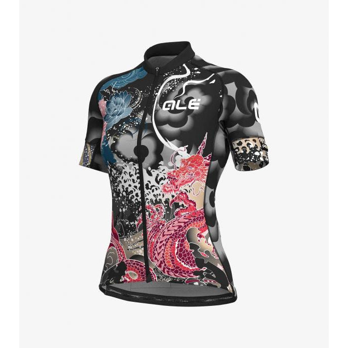 Maillot Alé Ocean SS Graphics Prr. Mujer Color Gerbera