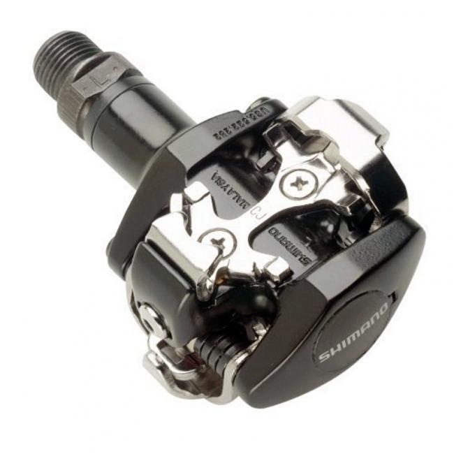 Pedales Shimano M-505 SPD NEGRO