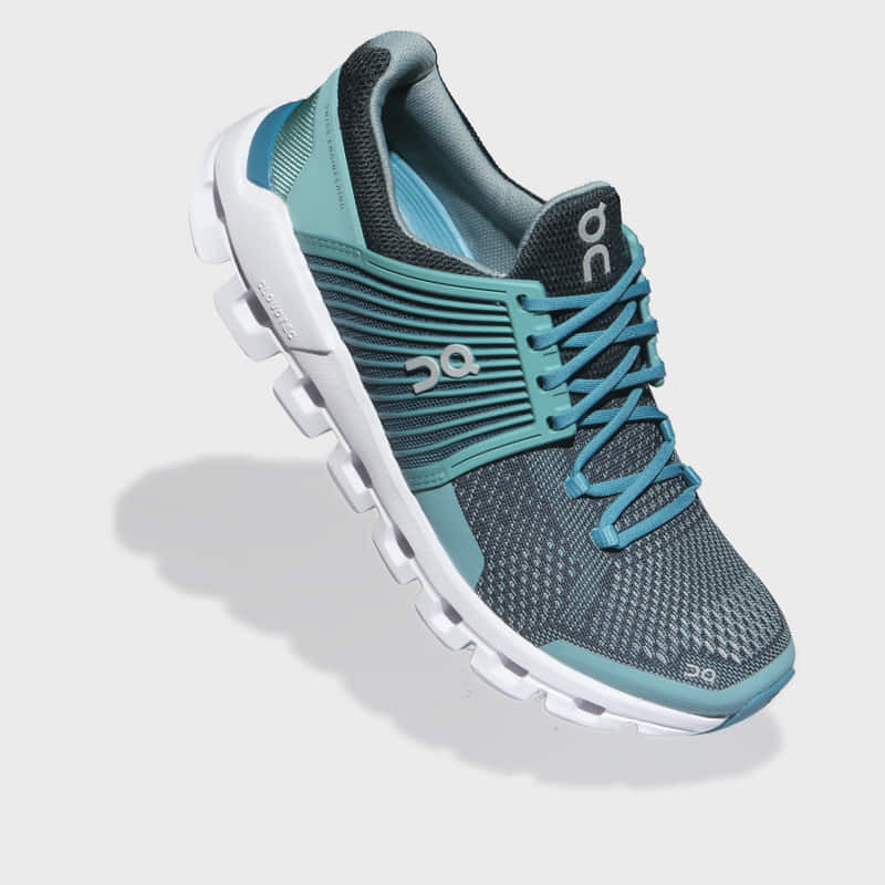 Zapatillas On Running Cloudswift Teal/Storm Mujer