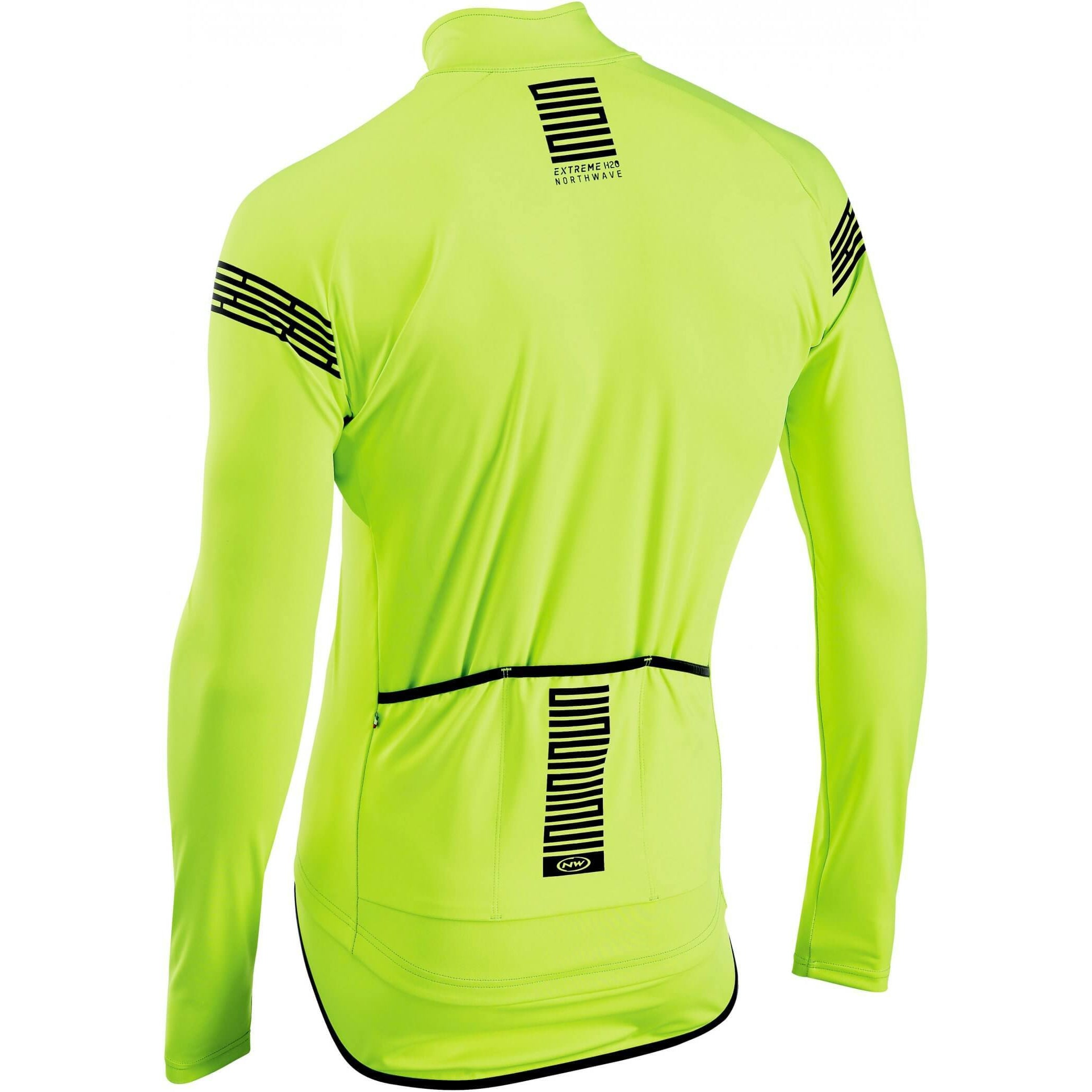 Chaqueta  Northwave Extreme H2O Impermeable Amarillo