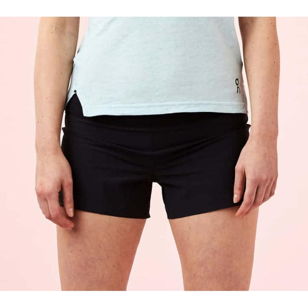 Pantalones ON Running SHORTS Negro Mujer
