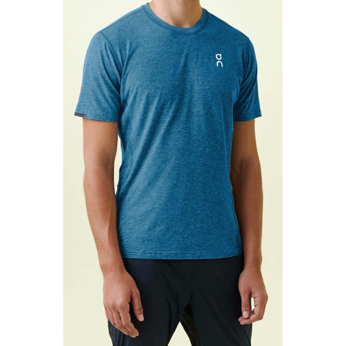 Camiseta ON Running COMFORT-T Navy Hombre