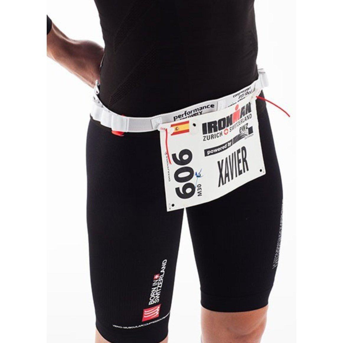 Race BELT Compressport Blanco