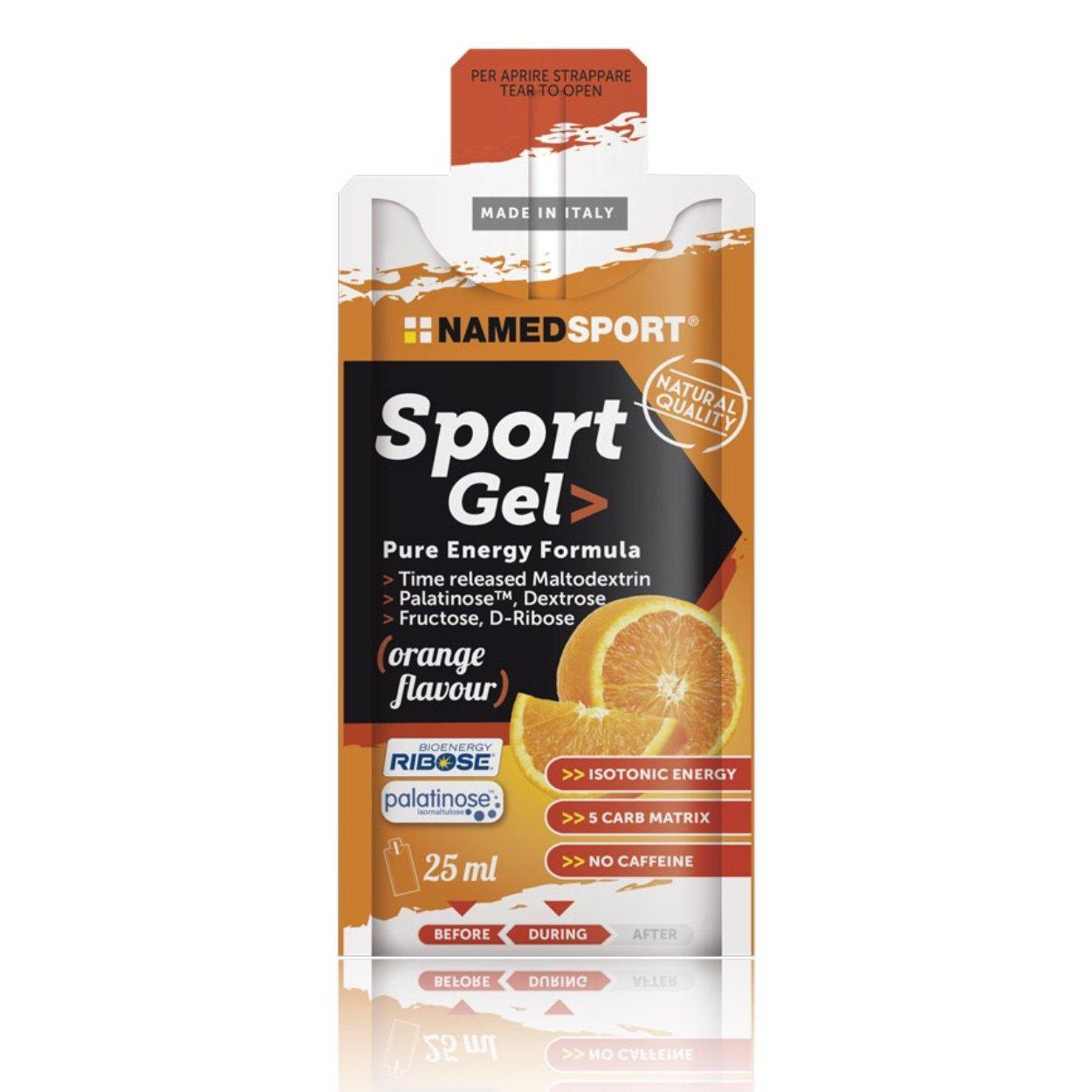 Sport Gel Pure Energy Formula 25ml. Named Sport