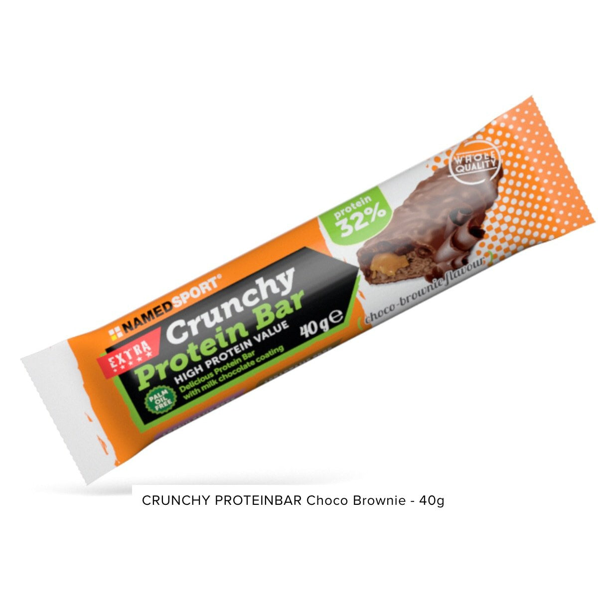 Crunchy Proteinbar Brownie Named Sport