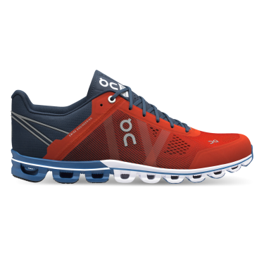 Zapatillas On Running CQ19 Cloudflow Rust & Pacific. Hombre